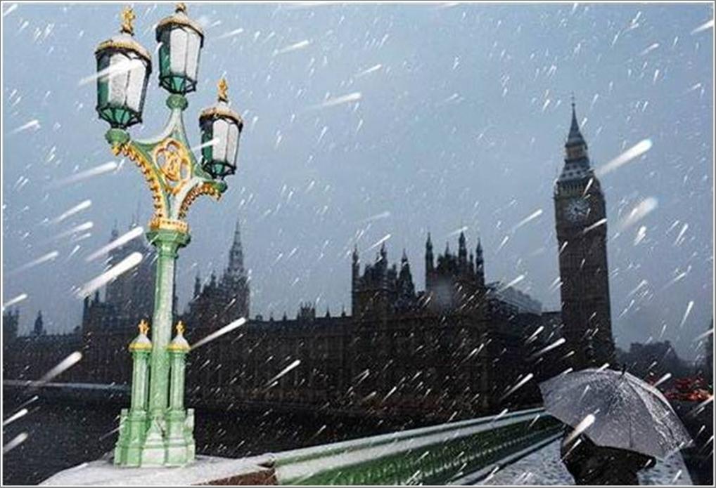 Westminster Bridge - Winter